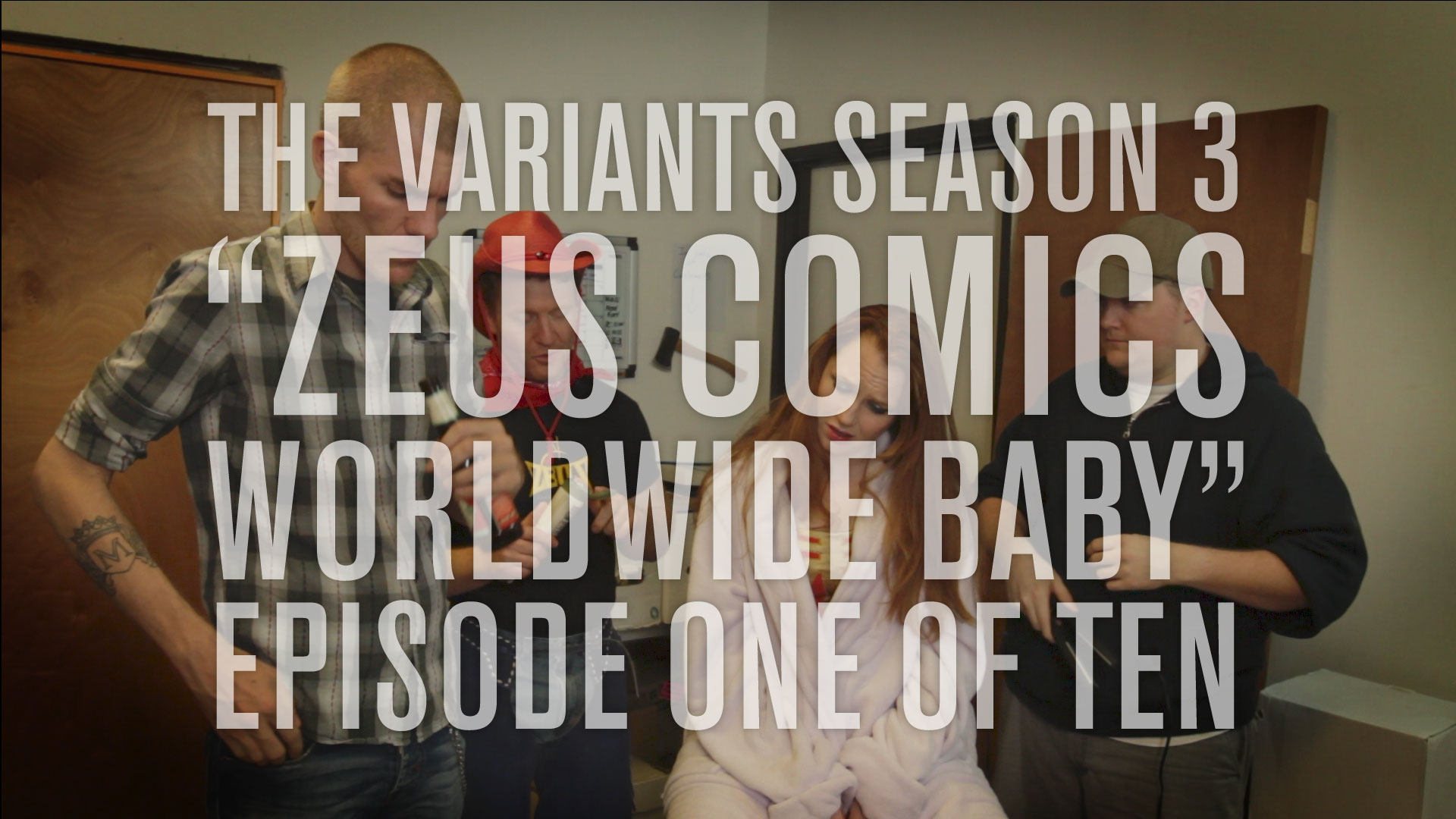 The Variants episode 1 screen grab
