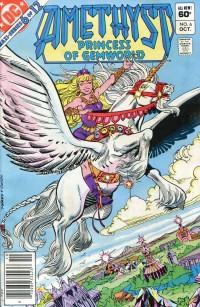 Amethyst Princess G #6  MS (of Gemworld) VG