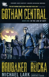 Gotham Central TP Deluxe  V1 In The Line Of Duty