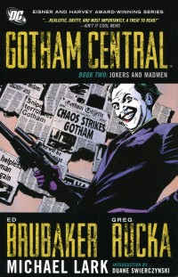 Gotham Central TP Deluxe  V2 Jokers and Madmen