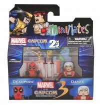 Minimates Marvel V Capcom Deadpool and Dante