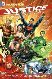 Justice League HC New 52  V1 Origin