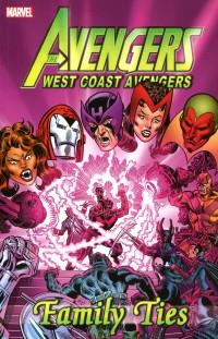 Avengers West Coast TP  Family Ties