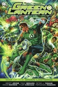 Green Lantern TP War of the Green Lanterns