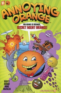 Annoying Orange GN V1 Secret Agent Orange