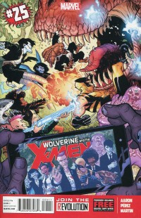 Wolverine and X-Men #25
