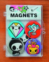 Tokidoki Magnet 4-pack  Adios