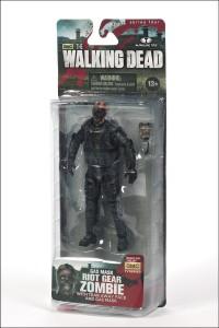 Walking Dead AF S4 Riot Gear Gas Mask Zombie