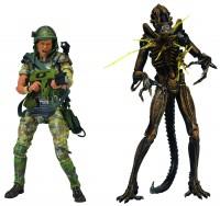 Aliens AF Hudson Vs Brown Warrior 7 in 2-pk