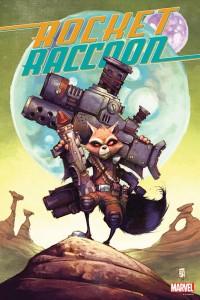 Marvel Poster Rocket  Raccoon Young CVR