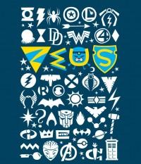 Zeus T-Shirt Royale Blue  by Luc Latulippe Medium