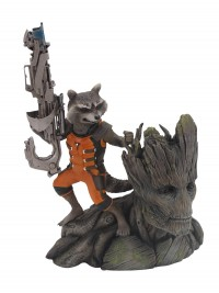 GOTG Statue Artfx Rocket Raccoon