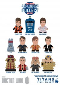 Dr Who Titans Mini-Figure Mystery Box Series 5