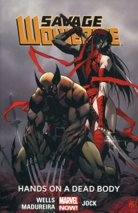 Savage Wolverine TP V2  Hands on Dead Body