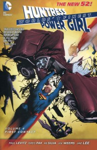 Worlds Finest TP New 52 V4 First Contact