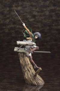 Attack On Titan Statue  Mikasa Ackerman ARTFX J