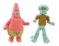 Minimates Spongebob S1  Patrick with Squidward