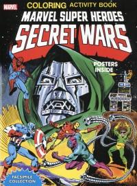 Marvel SH Secret Wars Activity Book