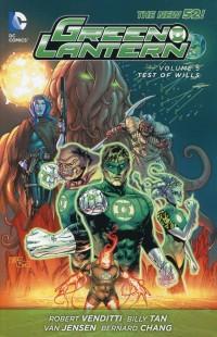 Green Lantern TP New 52 V5 Test of Wills