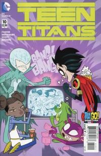 Teen Titans V5 #10  Teen Titans Go CVR