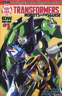 Transformers Animated Robots in Disguise #1