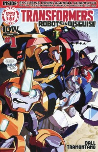 Transformers Animated Robots in Disguise #1 Sub