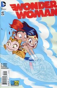Wonder Woman V4 #42 Teen Titans Go CVR