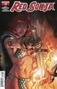 Red Sonja V5 #17  Isaacs CVR