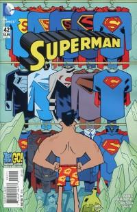 Superman V3 #42 Teen Titans GO CVR
