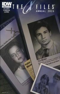 X-Files Season 10 Annual  2015