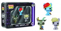 Funko Pop My Little Pony  Pocket 3pc Tin Gift Set 2