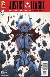 JLA Gods and Monsters Wonder Woman #1