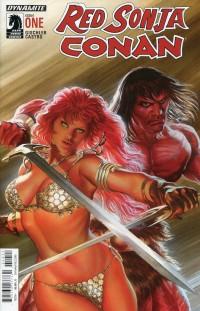 Red Sonja Conan #1  CVR A