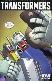 Transformers Robots in  Disguise #44 CVR A