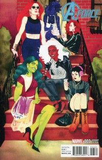A-Force #3  Wada Variant