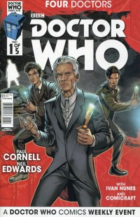 Dr Who 2015 Four Doctors  #1
