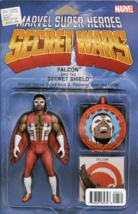 Secret Wars #5  Action Figure Variant
