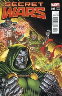 Secret Wars #5  Broderick Variant