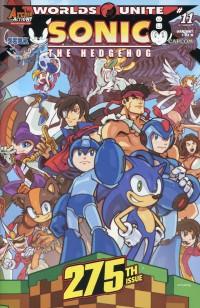 Sonic the Hedgehog #275 CVR B