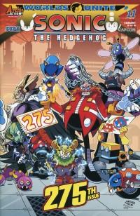 Sonic the Hedgehog #275 CVR C