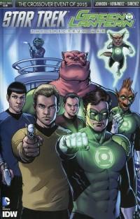 Star Trek Green Lantern #2 CVR B Robertson