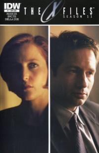 X-Files Season 11 #1  Photo Sub CVR