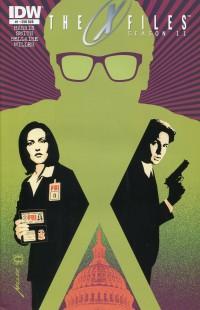 X-Files Season 11 #1  Miller Sub CVR