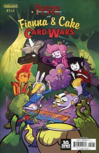 Adventure Time Fionna and Cake Card Wars #2 Sub