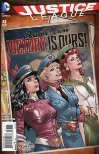 Justice League #43  Bombshells Variant