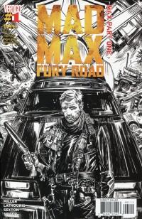 Mad Max Fury Road Max #1  2nd Printing