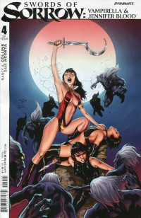 Swords Sorrow Vampirella  Jennifer Blood #4