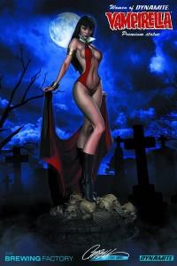 Vampirella Statue Women of Dynamite