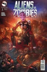 Aliens Vs Zombies #2  CVR C