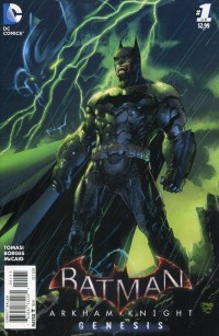 Batman Arkham Knight  Genesis #1 Jim Lee Var